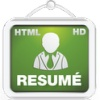 resume creator hd html android apps