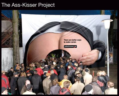 Jobsintown.de: Ass Kisser Project