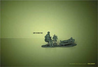recruitment ads for new zealand army psychologist creative job ad