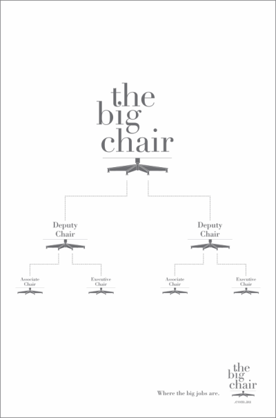 the big chair creative job ad