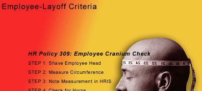 HR criteria for employee layoffs