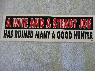 a wife and a steady job