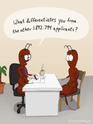 applicants interview cartoon