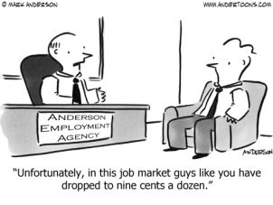 Bad job market