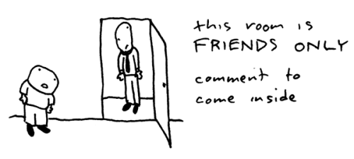 Blog comments - friends only