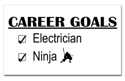 career goals ninja