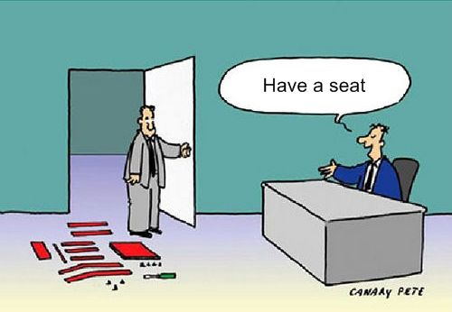 Funny Ikea Job Interview Cartoon