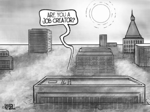 job creator cartoon