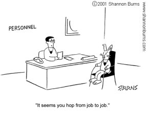 job search mistake
