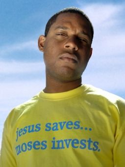Jesus Saves Moses Invests tshirt