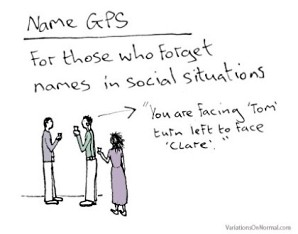Networking cartoon