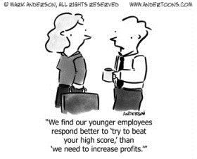 new employees cartoon