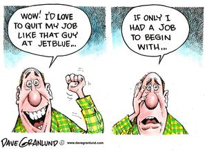 quit job cartoon
