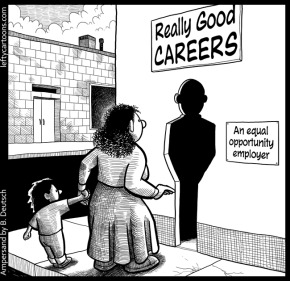 really good career cartoon