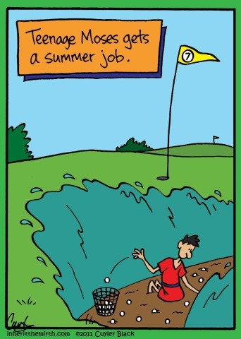 teenage moses summer job