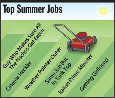 top summer jobs