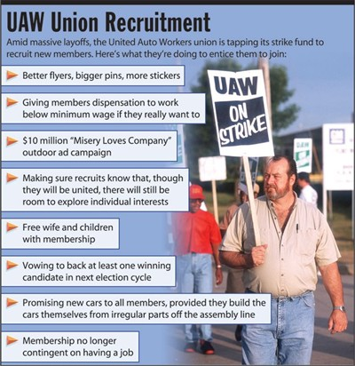 uaw union recruitment