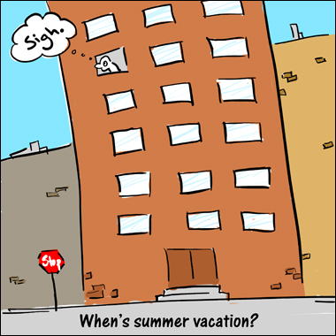 whens summer vacation cartoon