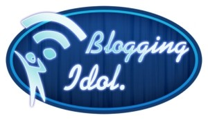 Blogging Idol Contest logo