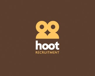 Hoot Recruitment logo