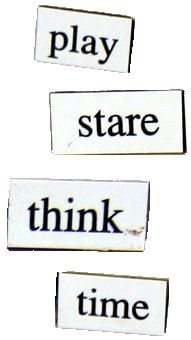 Positive Words Poetry Magnets