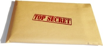 Confidential Job Search Top Secret Envelope