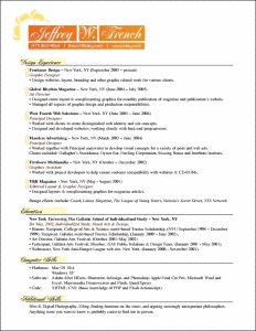 Jeffrey French resume