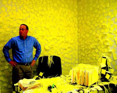 Sticky note office