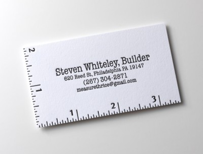 StevenWhiteley creative business card design