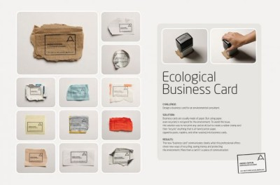 andreacards creative business card design