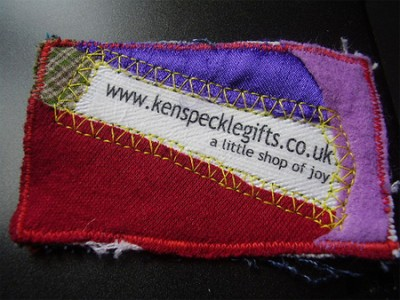 kenspecklegifts creative business card design