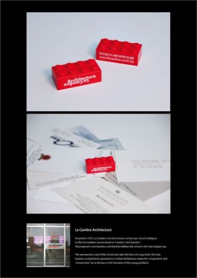 lacambrebusiness creative business card design