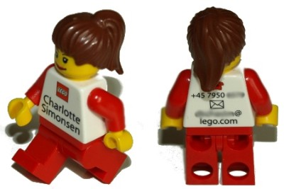 lego creative business card design