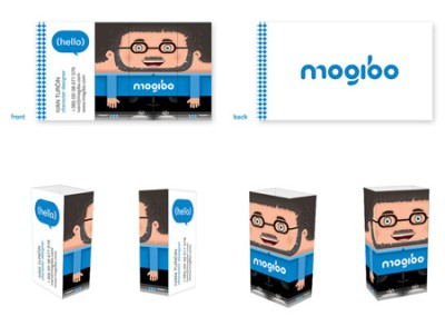 mogibo creative business card design