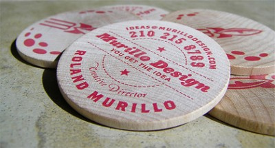 murillo creative business card design