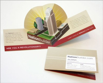 nationbuilder creative business card design