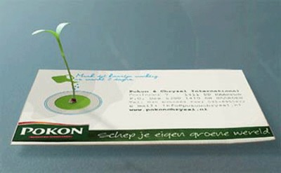 plant creative business card design