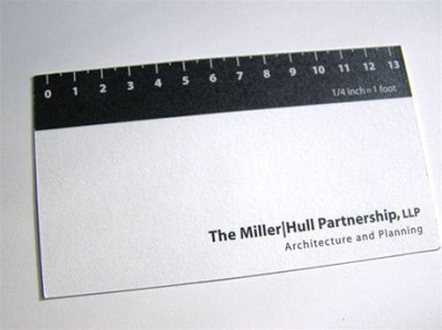 ruler creative business card design