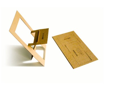 sheet seat creative business card design