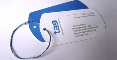 tag creative business card design