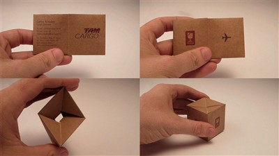 tam cargo creative business card design