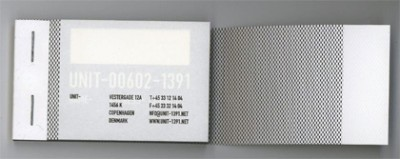 tape creative business card design
