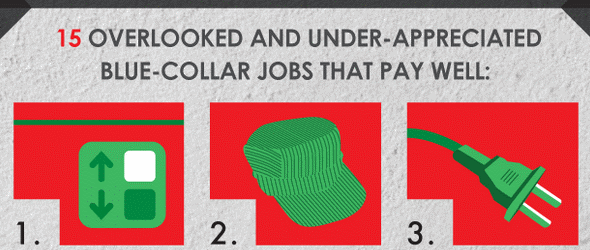 most underrated jobs infographic