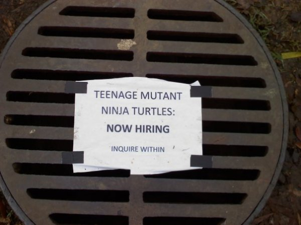 manhole cover recruitment marketing