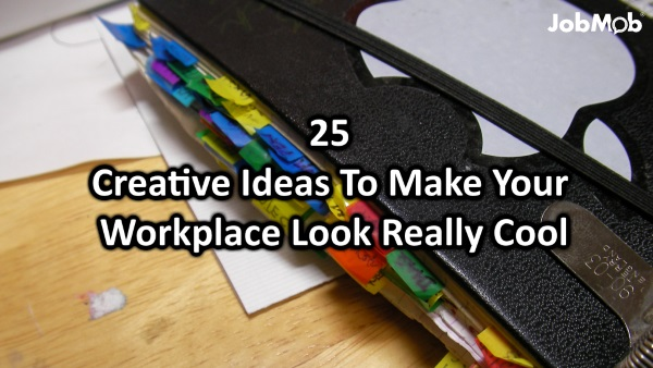 Stupendous 25 Creative Office Ideas To Make The Coolest Workplaces Jobmob Largest Home Design Picture Inspirations Pitcheantrous
