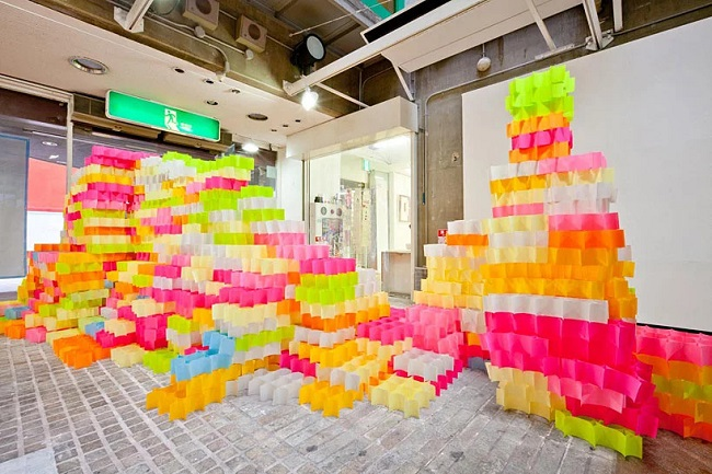 sticky note structures