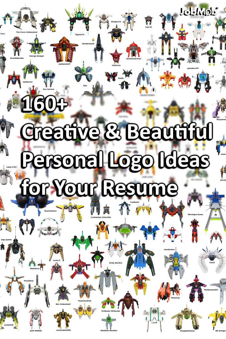 An eye-catching personal logo, monogram or wordmark adds a professional touch and makes your resume stand out. #creative #resume #logo