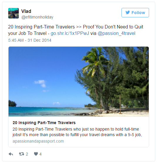 freelance traveling jobs tweet