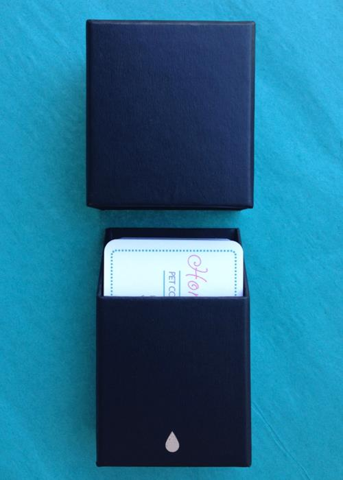 moo card complementary business card holder