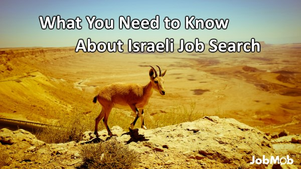 What You Need to Know About Israeli Job Search
